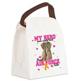 Military air force mom Canvas Lunch Bag