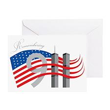 Remembering 911 Greeting Card