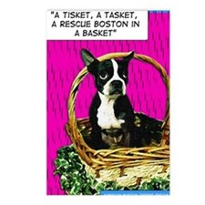 Boston in a Basket Postcards (Package of 8)