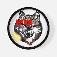 team jacob eclipse wolf copy Wall Clock