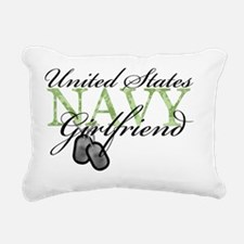 usnavygirlfriend Rectangular Canvas Pillow