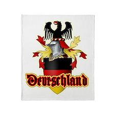 german heraldry Throw Blanket