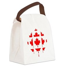 cbc_canada3 Canvas Lunch Bag
