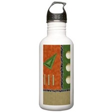 Earth colors PCard Water Bottle