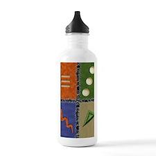 Earth colors 2 GCard Water Bottle
