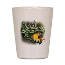 roaring dragon Shot Glass