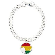 Africa_sponge Charm Bracelet, One Charm