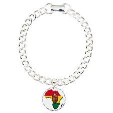 Africa_mask2 Charm Bracelet, One Charm