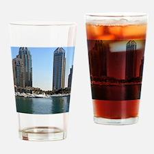 Dubai Marina Drinking Glass