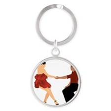 DWTS3 C-JOURNAL LIGHT Round Keychain