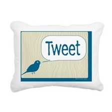 2-Twitter_05 Rectangular Canvas Pillow