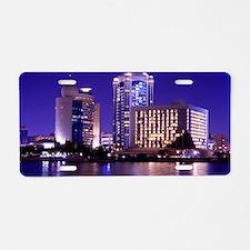 Dubai Creek Aluminum License Plate