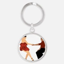 DWTS3 C-MOUSE light Round Keychain