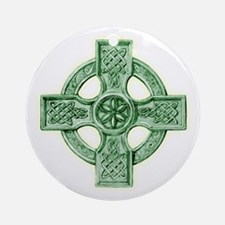 2-celtic cross equal arms Round Ornament