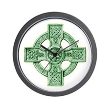 2-celtic cross equal arms Wall Clock