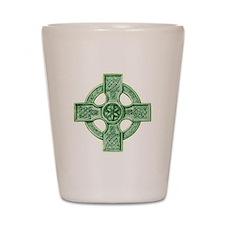 2-celtic cross equal arms Shot Glass