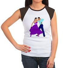 DWTS4 C-JOURNAL light Women's Cap Sleeve T-Shirt