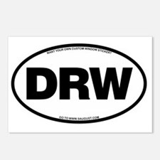 2-DRW Postcards (Package of 8)