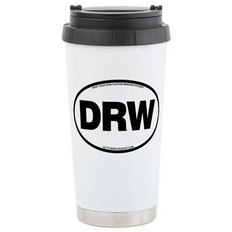 2-DRW Stainless Steel Travel Mug