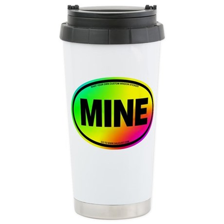 2-MINE Stainless Steel Travel Mug
