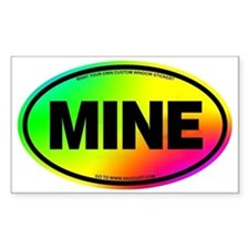 2-MINE Decal