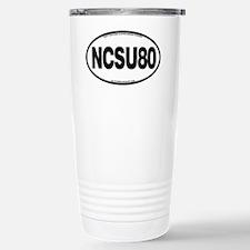 NCSU80 Stainless Steel Travel Mug