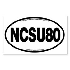 NCSU80 Decal