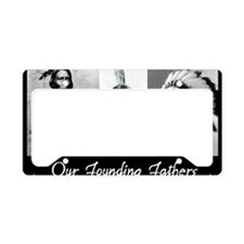 real founders License Plate Holder