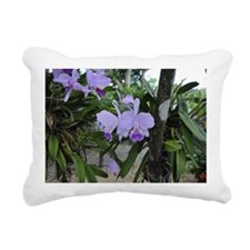Orquidea Rectangular Canvas Pillow