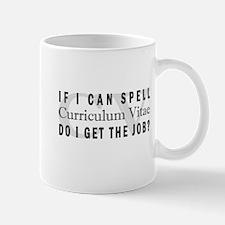 CV Resume Mug