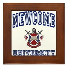 NEWCOMB University Framed Tile