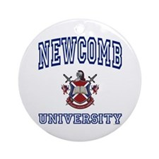 NEWCOMB University Ornament (Round)