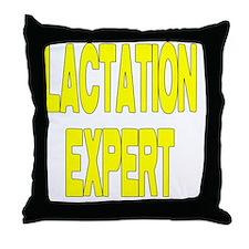 lactation.gif Throw Pillow