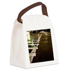 City Street Canvas Lunch Bag