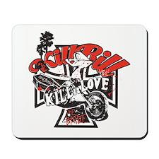 Kill (Black/Red) Mousepad