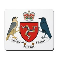 IOM_coat_of_arms Mousepad