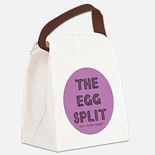 2-egg-split Canvas Lunch Bag