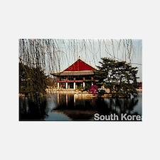 SouthKorea5 Rectangle Magnet
