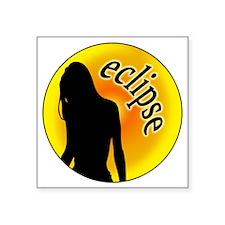 "twilightmooneclipse Square Sticker 3"" x 3"""