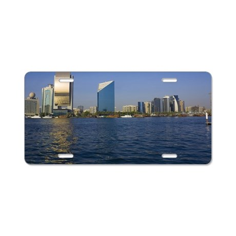 Dubai Creek Aluminum License Plate