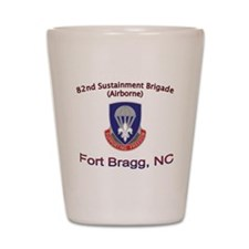 82nd Sustainment BDE Shot Glass