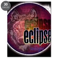 eclipse wolf shadow large copy Puzzle