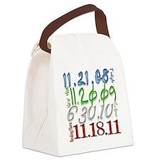 dates twilight movie saga Canvas Lunch Bag
