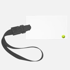 game set match. tennis t-shirt Luggage Tag