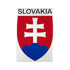 SlovakiaCoat1 Rectangle Magnet