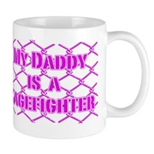 DaddyCageFighter_Pink Mug