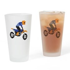 Shred the Gnar White Drinking Glass