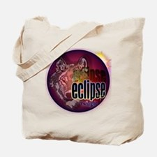 eclipse wolf shadow for clocks and button Tote Bag