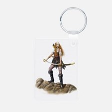 pirate wench fin vig Keychains