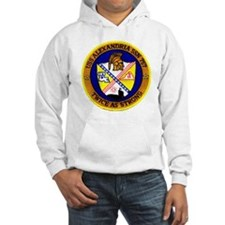 alexandria patch transparent Hoodie Sweatshirt